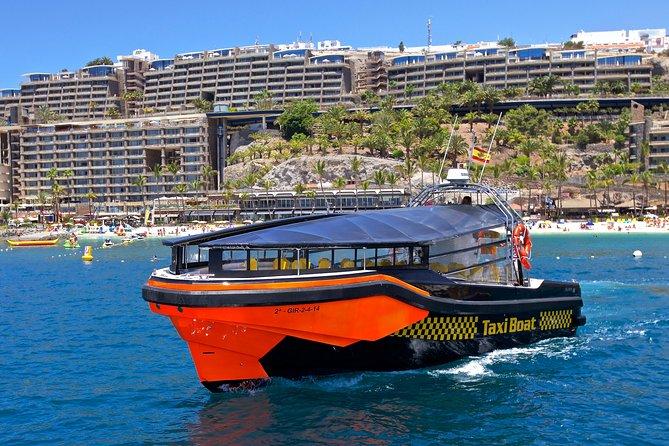 Gran Canaria Taxi Boat from Puerto Rico Harbor, Gran Canaria, Spain