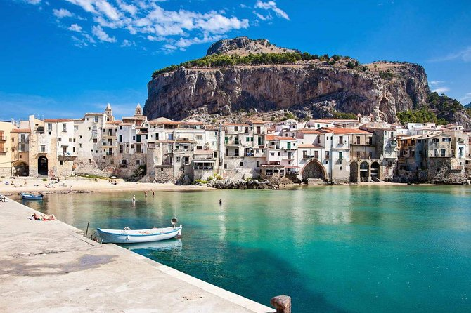 """This is a private and exclusive tour, you will only be in the group, there will be no other people. We will be out of the normal tourist circuits, we will visit isolated, peaceful and safe places. One of the most beautiful excursions to do in Sicily where you will see from the green mountains of the Madonie to the beaches and the crystalline sea of Cefalù.Driver-guide available during the tours. Castelbuono beautiful medieval village immersed in the Madonie park rich in history and traditions where you will visit the Castle of Ventimiglia rich in history and legends that guards inside there is a precious relic of St. Anne the Mother of Mary as well as numerous other treasures. The visit will continue through the streets of the quaint Old Town, will be a tasting of typical sweets, at the famous artisan pastry """"Fiasconaro"""". After lunch the tour, continue to Cefalù, visit of the village, Free time available for shopping. 17.00 return to the hotel in Palermo about 1 hour travel."""