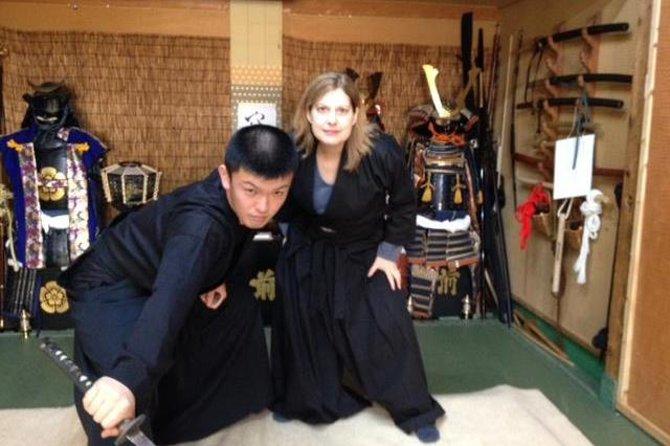 Experiencia en Tokio: Samurái durante un día, Tokyo, JAPON