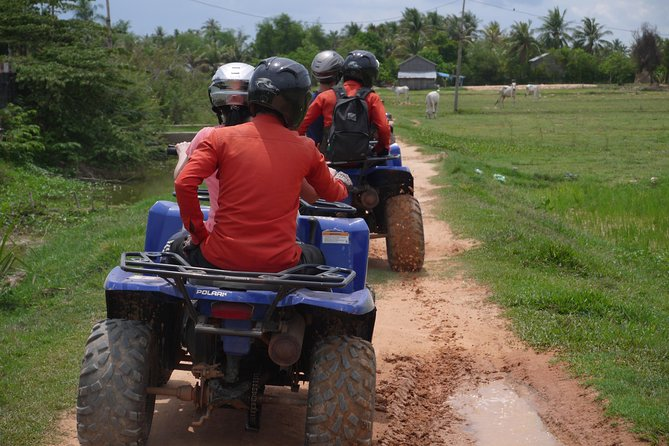 Quadbike ride is one of the most unique tour in Siem Reap. You will be able to get closer to the local life and have beautiful views of landscape through this tour.