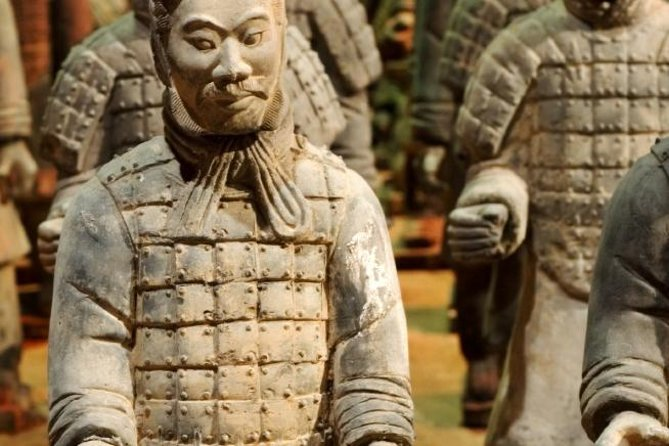 This is a perfect tour if you wish to visit Xi'an from Beijing in one day. This package includes Beijing hotel-airport transfers, round-trip air tickets Beijing-Xi'an, and the famous dumplings lunch at De Fa Chang restaurant in Xi'an. In Xi'an you will visit the famous Terracotta Warriors, the Ancient City Wall, the Muslim Quarter and the Big Wild Goose Pagoda.