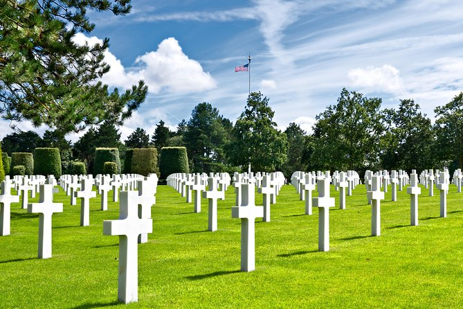 Spend a remarkable day visiting the Mémorial de Caen museum and exploring historic D-Day sites such as Omaha Beach and Pointe du Hoc. Designed for day-trippers from Paris, this tour departs from Caen railway station and includes a guided visit to Memorial de Caen, lunch and a tour of pivotal D-Day sites such as the artificial harbor at Arromanches, Omaha Beach and Pointe du Hoc.