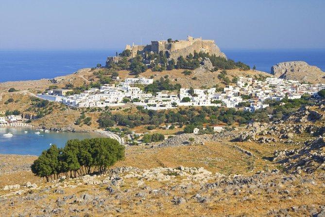 Excursión privada: Acrópolis y pueblo de Lindos, Rhodes, GRECIA