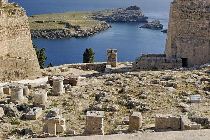 Excursão particular: Acrópole Lindos e vila, Rhodes, Grécia