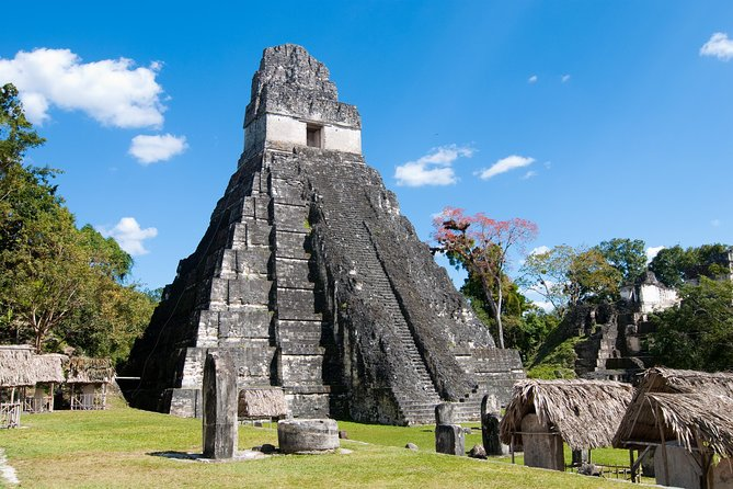 Take a day trip from San Ignacio to the Mayan ruins of Tikal, located in the UNESCO World Heritage-listed Tikal National Park (Parque Nacional Tikal). A professional guide leads you on a tour of the famous archeological site, once inhabited by the pre-Columbian Mayan civilization. Step foot in the heart of the jungle and experience Guatemalan history, culture, and nature all in one day! Round-trip hotel transport, crossing the border from Belize, is included.