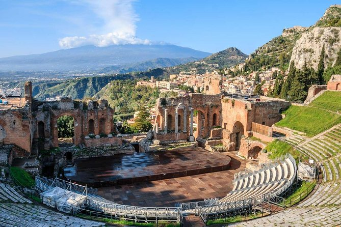 Experience the magic of the Sicilian resort town of Taormina when it cool down on this narrated walking tour. Your guide will reveal the history, culture, natural beauty and archaeology of this fascinating town perched on a hill as you visit Greek Theatre, Palazzo Corvaja, the ancient Roman theater, Piazza Duomo and other important areas and monuments. Enjoy coastal views from Corso Umberto and immerse yourself in the energy and typical Sicilian vibe of Old Town.