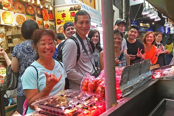 Combine thefreedom of bike riding with the culinary delights of Japan's most famous food city in a 3-hour foodie bike tour! Led by a knowledgable guide, you will ride the streets of South Osaka, exploring a local market, meeting some of the locals andsampling local bites along the way. Your English speaking guide will help you learn more about the city and introduce you to a range of delicious foods including chijimi pancakes, grilled wagyu beef, kushikatsu skewers and delicious sushi!