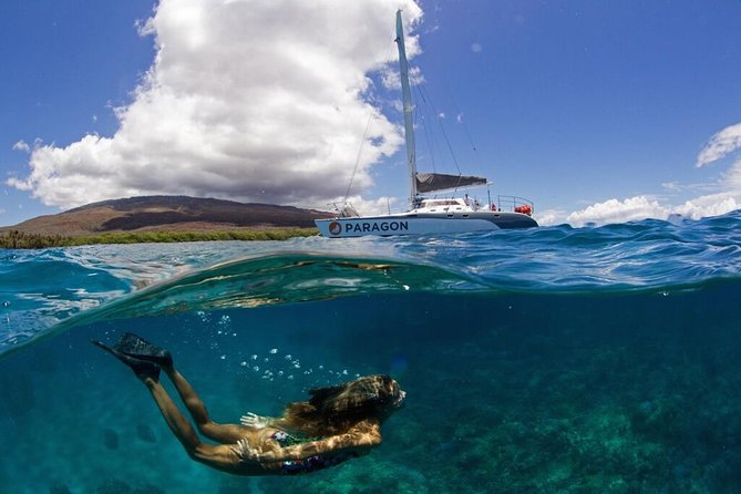 Pali Coast Snorkel and Performance Sail from Ma'alaea Harbor, Maui, HI, ESTADOS UNIDOS