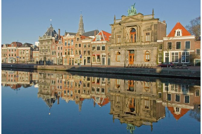"Explore the medieval Dutch town of Haarlem on this 2-hour, private walking tour with a local guide. Your tour is customizable, so you can see the attractions that most interest you at a pace that is most comfortable. Wander past (and peek into) the city's most iconic historical landmarks like the town hall, houses from the 16th and 17th centuries, and St. Bavo Church — where Mozart performed during his visit to Haarlem. Discover hidden gardens and courtyards (""hofjes""), as your personal guide shares insider's tips about Haarlem's unique culture and character."