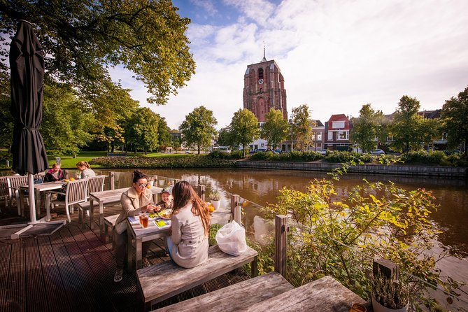 Set off on foot to discover Leeuwarden's highlights during this private, customizable walking tour. With your local guide, see historical monuments in the city center like the Oldehove, an unfinished medieval church tower that leans more than the Tower of Pisa in Italy. Have plenty of time to ask your personal guide questions as you learn about the Dutch city's unique character, and its local history and culture.