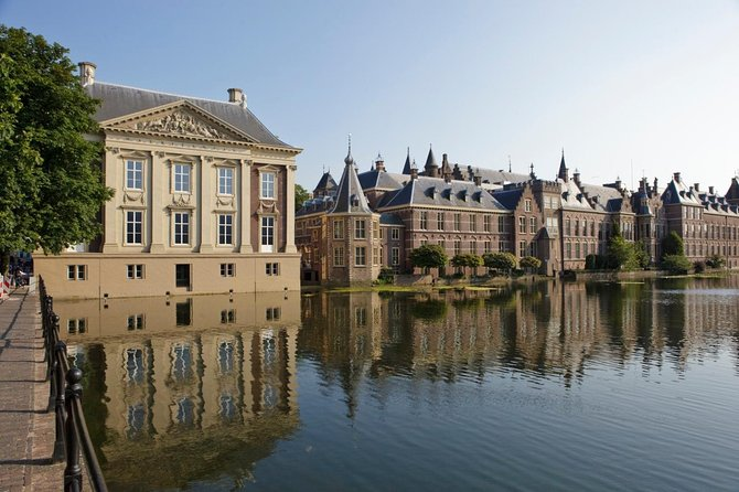 The seat of the Dutch government, The Hague is filled with many important sites that are best explored by foot. This private walking tour shows you highlights including Noordeinde Palace, the Tower of Rutte, Square 1813, the Prison Gate Museum, City Hall and the Parliament buildings around the Binnenhof, the cultural heart of the city established in the 13th century. End with a visit to the Peace Palace visitors center.