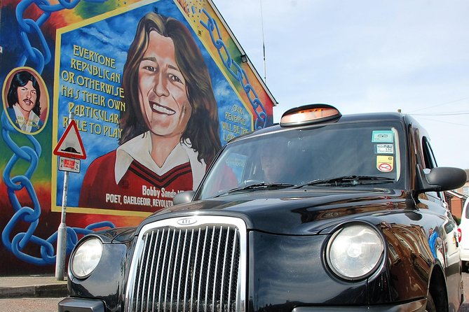 MÁS FOTOS, Belfast Famous Black taxi political mural peace wall tour 2 hour