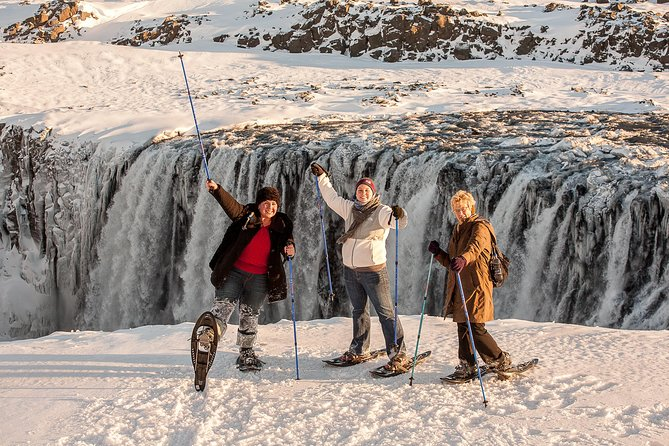 Experience the magic of the great Waterfall Dettifoss and its surroundings. The combined width and height make it the most powerful waterfall in Europe and we take our time to find the best sites for taking photos along the glacial canyon edge, depending on weather and other conditions during that particular day.