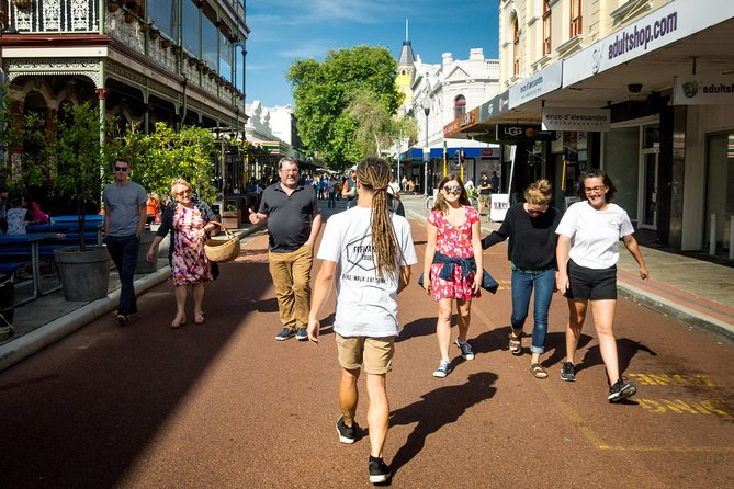 Experience the true local side of our great port city by hitting the pavement and walking our beautiful streets. Our vibrant city has so much to offer from hip and hidden cafes, brilliant bars, delicious restaurants and street art to its rich history as a trading place for over 40, 000 years. That tradition has continued and diversified to give us the thriving cultural hub Fremantle is today. From the oldest building in Western Australia, the Roundhouse, to the newest bars and cafes, here at Fremantle Tours will show you it all!  <br><br>Our comfortable pace means that we can enjoy all the sights and sounds of Fremantle with frequent stops for photographs, stories, history and advice on the best spots for you to truly enjoy the best Freo has to offer. We travel about 4km (2.5 miles). All our tours have a maximum of 10 people so we can get to know you all. We think less is more and we can all have a better time for it!