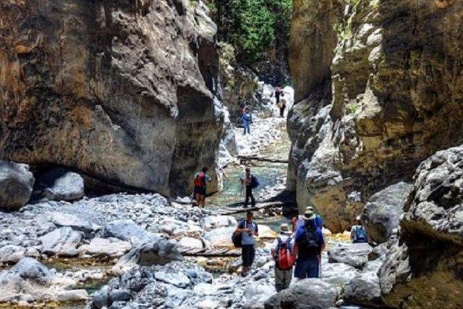 Recorrido por el desfiladero de Samaria desde Chania, el desfiladero más largo de Europa, ,