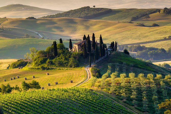 There's more to Tuscany than Florence. Leave the city behind and discover three other enchanting Tuscan destinations on this day trip to Siena, San Gimignano and Pisa. Take a guided tour of beautiful Siena, famous for its bareback horse race and the Gothic Siena Cathedral, and taste typical Tuscan food and wine during a 3-course lunch in a local winery or restaurant. Then, enjoy free time to explore San Gimignano, a picturesque medieval village, and Pisa, home to the UNESCO-listed Leaning Tower of Pisa.