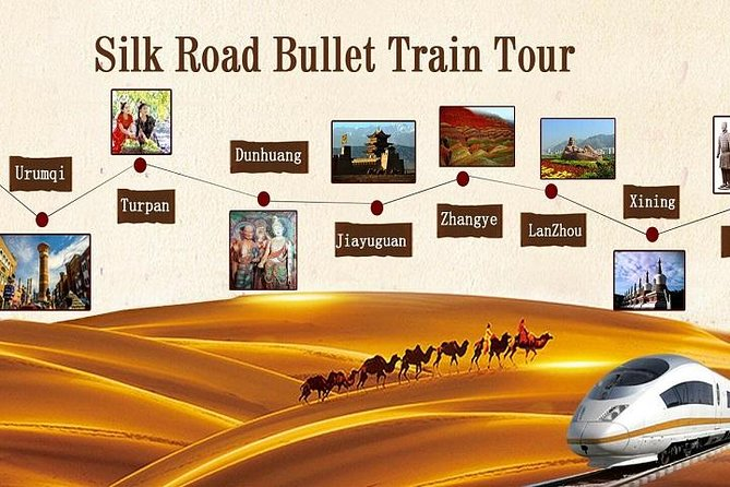 8-Day Private Silk Road Bullet train Tour from Lanzhou, Lanzhou, CHINA