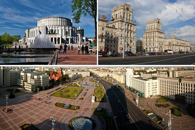 We warmly welcome you inMinsk– the capital of theRepublicofBelarus, its political and cultural centre. <br><br>It was first mentioned in the chronicles of the XIth century. Today, it is a dynamic city with expansive boulevards, modern and historical buildings, endless parks and well-developed infrastructure.During the excursion you will learn about the past and the present of the city which has a long, interesting and sometimes tragic history. You will pass along the main streets and avenues of the capital of our Republic and will see the most beautiful and valuable architectural monuments: churches and cathedrals ( St. Pater and St. Paul's Cathedral St. Simeon and Elena Cathedral, All Sacred Church) historical Minsk centre – The Upper City, Trinity suburb and magnificent sport constructions of the Pobeditelei Avenue.<br><br>The tour price includes:<br>•Transportation service<br>• Guide