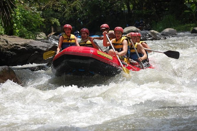 This is the best tour combination packages to try the Bali rafting adventure at Ayung river and continue to visiting the breathtaking view of Batur vocano, see the beauty landscape of Tegallalang rice terrace, enter the spice garden to see the Indonesian spices and process of roasting Bali coffee, and then tour continue to visit Ubud Monkey Forest in the center of Ubud town is small forest and conservation. <br><br>Enjoy the trip and lets us to turn your moment into memories.