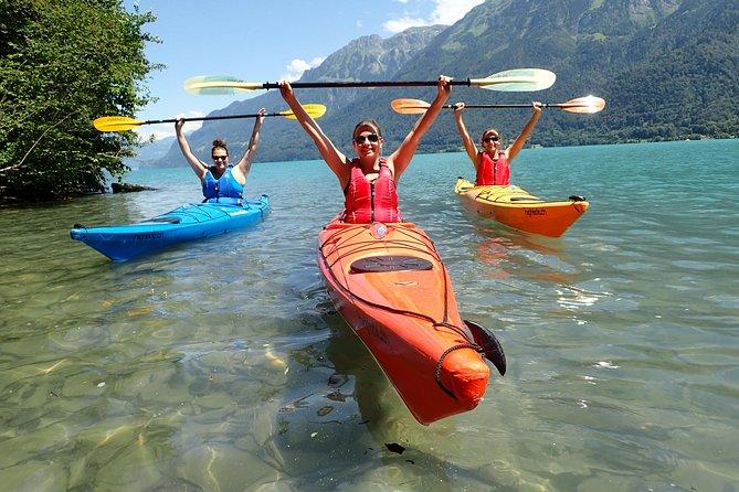 MÁS FOTOS, Kayak Tour of the Turquoise Lake Brienz