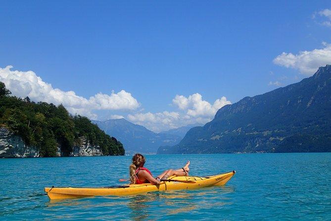 Kayak Tour of the Turquoise Lake Brienz, Interlaken, SUIZA