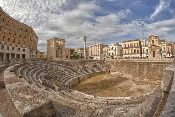 Lecce the Florence of the South from Central Apulia, ,