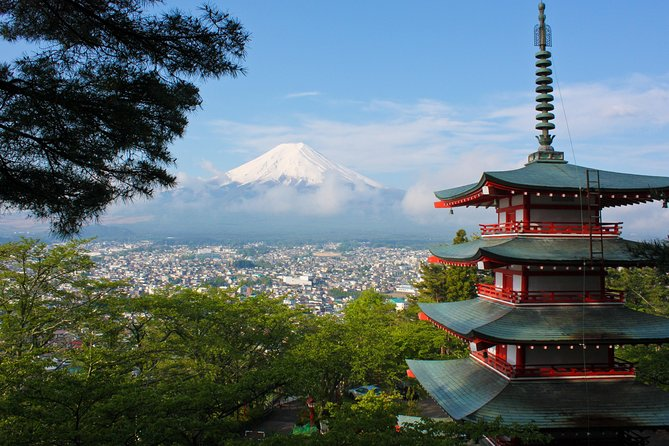 Journey onto this 1 Day Private Tour of Mt Fuji and surrounding areas from Tokyo by vehicle. Accompanied by a friendly, English speaking driver, experience magnificent vistas of the UNESCO World Heritage Site. See surrounding sites such as the Sengen Shrine Complex, Kawaguchiko Lake, and Oshino Hakkai.<br><br>Highlights<br> • Private Day Tour - Fully Customizable<br> • Experience the timeless magic of the lake(s) around Mt Fuji, a UNESCO World Heritage Site<br> • Stop by the Sengen Shrine complex, one of the most important and historical in the region<br> • Make your way to the 5th station of Mt. Fuji, 2,300 meters above sea level (weather permitting)<br> • Ride on an elevated ropeway for panoramic, breathtaking scenery and visitOshino Hakkai, a traditional Japanese style village<br> • Feel safe and sound with our modern vehicles and expert drivers<br><br>NOTE: This is a suggested itinerary - you are welcome to customize it.