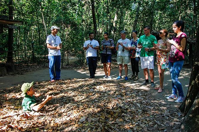 Shore Excursion: Cu Chi Tunnels and Ho Chi Minh City from Phu My port, ,