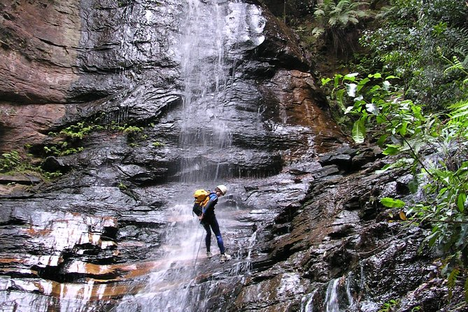 Our most popular canyoning adventure, Empress Canyon is simply stunning. <br><br>Your day includes canyoning, abseiling, water jumps and a 30 metre waterfall abseil.<br><br>We also provide a gourmet lunch that you select at the time of booking.