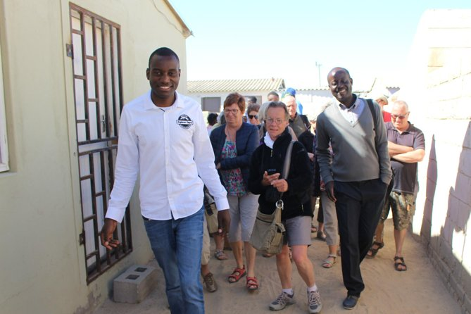 Nande Junias Explorer Tours<br><br>Township Cultural Experience Tour in Mondesa ,Swakopmund<br><br>Explore different cultures and meet local people in the community of Mondesa, get to know Namibia better with your local Tour guide, get to know and learn about the different tribes in Namibia from Ovambo, Damara ,Herero and the Ovahimba people.Nande Junias is a local Tour guide from Mondesa,he started his Township tour journey 15 years ago while still in school, He grew up in the Township of Mondesa, he will let you explore Namibian Cultures ,through his Guided Township Tour Experience, your local Tour guide will get you into the township.<br><br>'Don't forget your camera and sweets and any sort of stationaries for the kids'<br><br>Why you should do our Tour<br><br>25% of your payments benefit the community of Mondesa.
