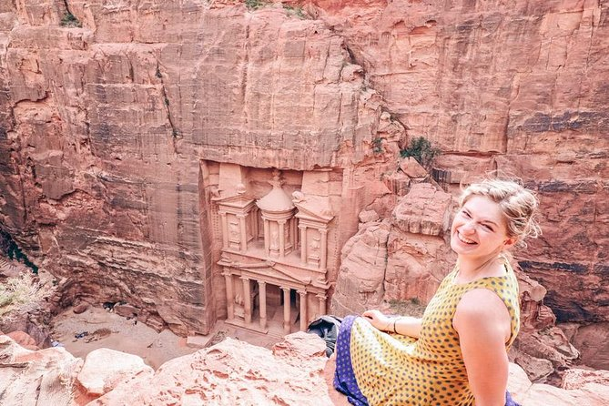 Explore the wonders of Jordan on this two day guided tour from Tel Aviv! Visit the archaeological site of Jerash, enjoy a driving tour the high-contrast city Amman and experience the world wonder of Petra. <br><br>* See beautiful desert landscapes.<br>* Experience authentic Bedouin hospitality.<br>* Taste traditional local food.<br>* Visit Petra - one of the Seven Wonders of the World.<br>* Explore the ancient city of Jerash.<br>* Central pickup location, so you spend the maximum time in Petra and Jordan, and not circling the city to pick up other guests.<br>* One guide that is with you from the moment you arrive in Jordan until you leave taking care of your entire trip.<br>* Leaves from Tel Aviv rather than Eilat, saving you money, long rides on public transport and a mandatory night in Eilat.<br>* Includes the incredible cities of Jerash and Amman, rather than only seeing Petra.<br>* Custom made informative travel app for smartphones & tablets.<br><br>