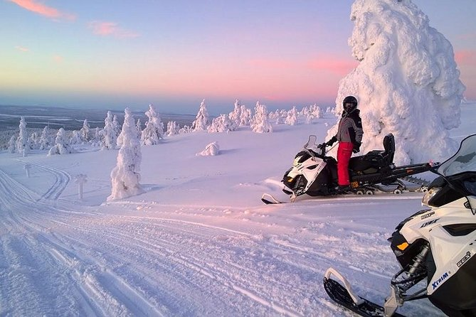 This adventure tour would be perfect for you if you've never tried Snowmobiling! Join this tour to get memorable experience and enjoy the amazing Lapland scenery.