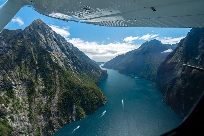 Fly further and see more when you fly with us from Wanaka. Fly to Milford Sound through two of New Zealand's most picturesque national parks. View alpine lakes nestled amongst snowcapped mountain peaks and pristine glaciers, with vast rain forest and cascading waterfalls visible from every seat! Locally owned with an excellent safety record.<br><br>Mount Cook + Fox Franz & Tasman Glaciers and Mount Aspiring & Glaciers are other options available, giving you the opportunity to view huge, untouched vistas of land.