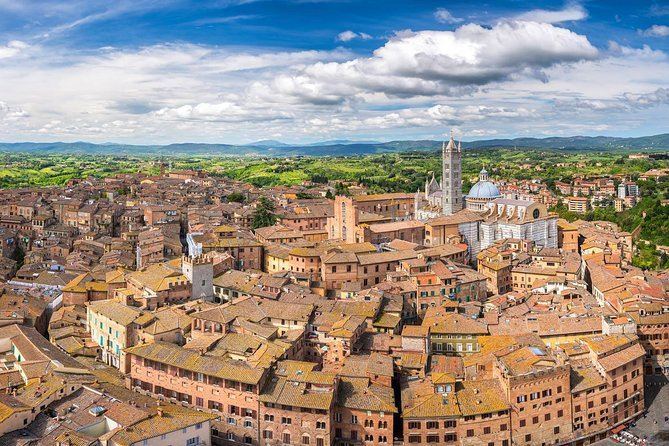 Discover the beautiful Italian towns of Siena and San Gimignano on this 10-hour tour. Two medieval villages in a day with a special wine tasting in a local winery. Guided and non-guided options available.