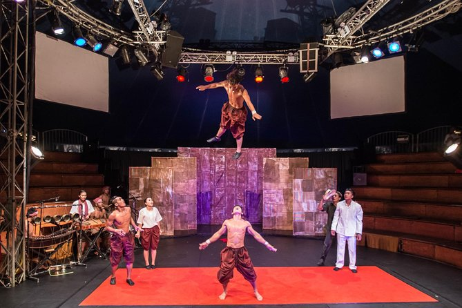 While in Siem Reap, see the remarkable Phare troupe perform a lively show that blends circus arts with riveting theater, dance and music to tell uniquely Cambodian stories — historical, folk and modern. These young circus artists, many from the most challenging social and economic backgrounds imaginable, will astonish you on stage with their energy, emotion and talent. You'll also learn how Phare Ponleu Selpak (PPS), a non-profit association, works with vulnerable children and young adults, helping Cambodian youth transform their lives through art.