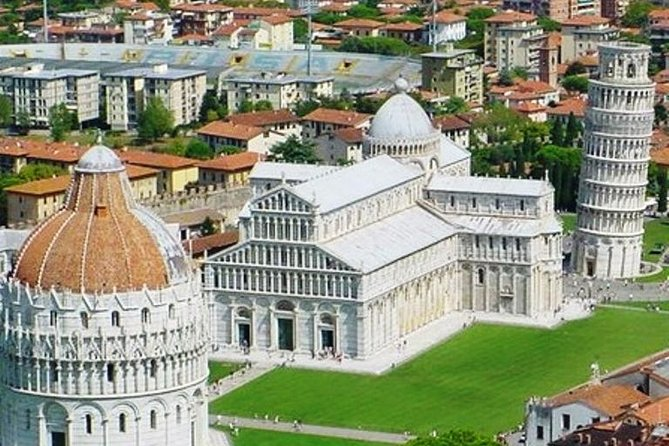 Swap Livorno's cruise port for the sights of Pisa and Florence on this full-day shore excursion. Take in the quintessential Tuscan countryside as you travel to these two must-sees cities in the comfort of an air-conditioned vehicle. With an expert guide, see Pisa and get close to the Leaning Tower of Pisa and the other A-list landmarks at the Field of Dreams. Then make for Florence's showstopper attractions including the world-famous Duomo and the iconic Ponte Vecchio before returning to Livorno in time for your cruise ship departure.