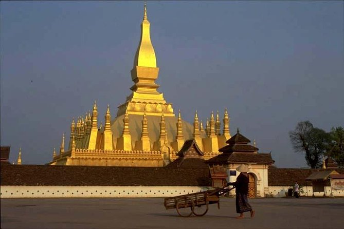 """Enjoy a half-day guided tour to discover the hidden charms of Vientiane meaning the """"city of sandal wood"""". Vientiane is one of the quietest capital cities in the world, far away from the bustle and hustle of other Asian capitals. Visit some of the most popular attractions including the Wat Sisake, Wat Phra Ke, Presidential Palace and more."""