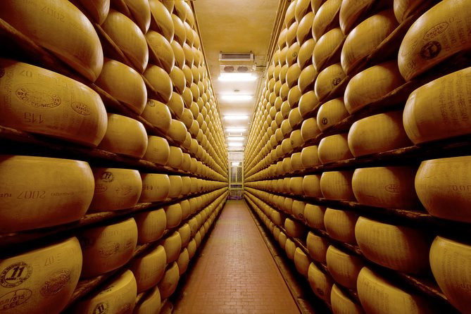 "The ""must do"" Food & Wine Tour in Parma or in Emilia-Romagna! A real full immersion in the flavors in just half day discovering  the secrets of the most famous typical products of the territory: ""Parmigiano-Reggiano"" cheese, ""Prosciutto di Parma"" ham, ""Lambrusco"" wine. If you are a foodie: unmissable! If you are not a foodie: you'll become one after this tour!"