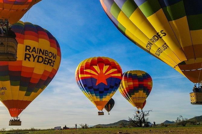 Paseo en globo al atardecer sobre Phoenix, Phonix, AZ, ESTADOS UNIDOS