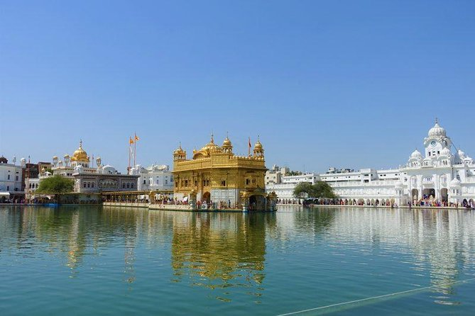"Get to visit The most Sacred place for Sikhs in the World ""Golden Temple"" and enjoy incredible food at Langar hall. Take a tour through other prestigious places in Amritsar along with the Wagah border to involve in the Magic of Indian Army marching through the crowd of Hundreds of Patriotic Indians."
