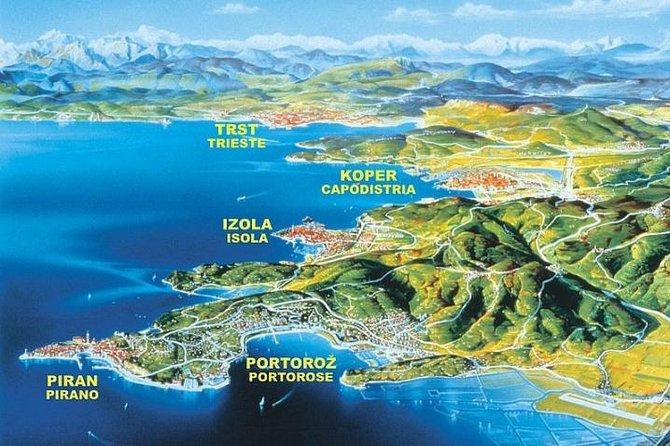 Private Experience: Piran & Scenic Slovenian Coast- 4hrs Shore Trip from Koper, ,