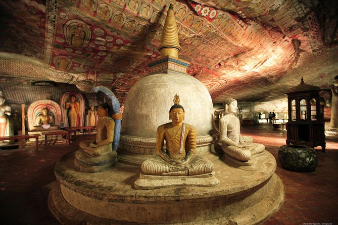 visit Dambulla was designated a World Heritage site in 1991. The caves have a mixture of religious and secular painting and sculpture. Climb a rock - if you're in good shape and don't stop to look at things, it'll take you less than 30 minutes to climb all the way to the top of the rock. If you need a few breaks along the way or simply want to stop often to take photos and admire the view, it'll take an hour and a half to two hours to climb up and go back down again.