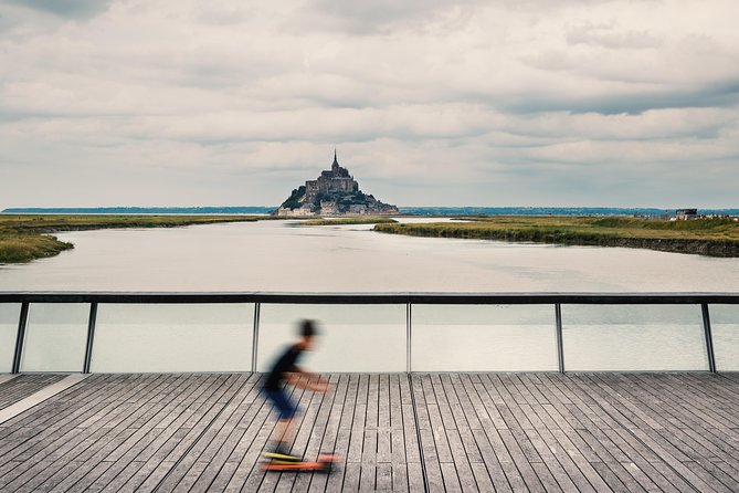 During your visit at the Mont St Michel, your family will experience a walk with a Private tour guide through the narrow cobblestone streets and along the ramparts of this old village. Mont Saint Michel (Saint Michael's Mount) has been an emblematic place for mankind for more than 1300 years. This granite rocky islet in the middle of one of the most important tides in Europe was designated as a place of prayer after the Archangel Michael's appearance