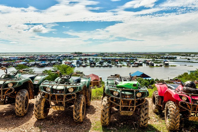 On this private tour you will experience an off road adventure of a lifetime around Siem Reap. Get to see local villages and a lot more. You'll have 3 hours to enjoy some ATV action!<br>A really good time to share with friends or family