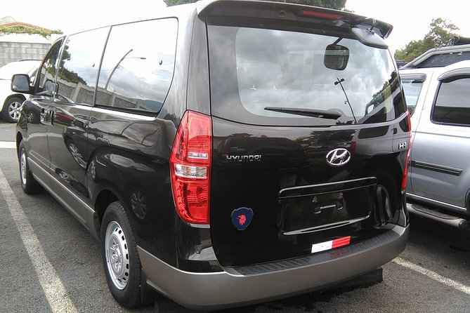 Transfer from Montezuma to SJO Airport or Hotels for up to 5 passengers., ,