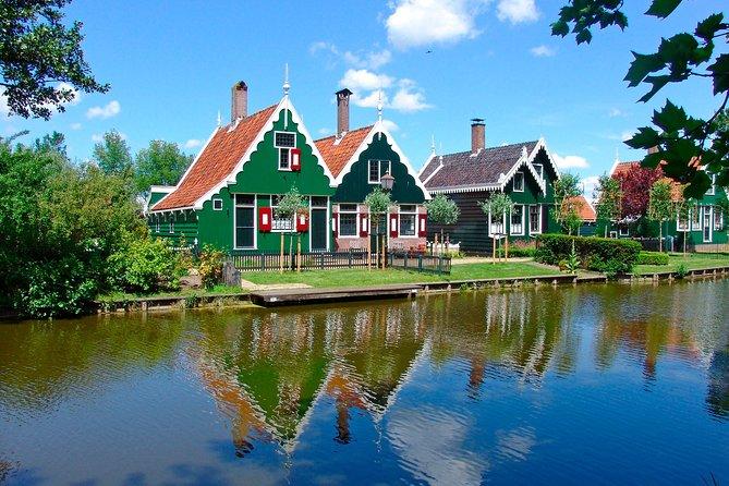 Excursión de medio día a Ámsterdam hasta llegar a Zaanse Schans: Los molinos de viento, Museo y queso zuecos, Amsterdam, HOLANDA