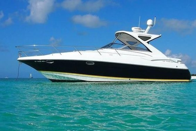 Enjoy Turks and Caicos' beautiful waters on this private tour by luxury cruiser. Great for a day out on the water with your family or friends, this Providenciales tour from Grace Bay is fully customizable so you can do what interests you most. Go snorkeling, swimming, fishing and chilling. Explore smaller neighboring islands. Work on your tan on the boat's front deck. Relax with a glass of sparkling wine or rum punch. Drinks, snacks and lunch are all included.