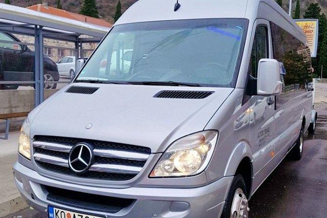 Transfer by mini van or bus fromBudva to Dubrovnik.