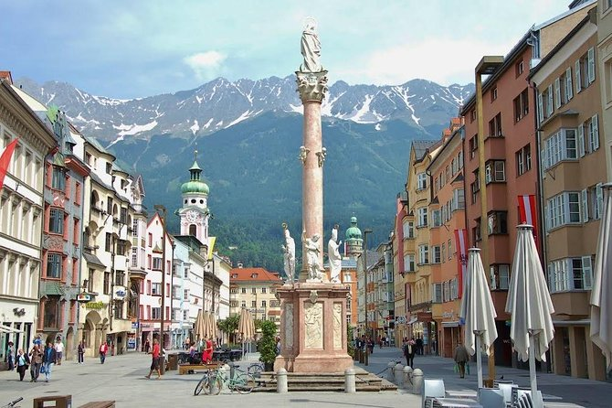 While my tours i want to show you the hotspots of the capital town of tyrol. Innsbruck is located between the alps and really worth to see. In this town we have a long history of the habsburg family, also 3x Olympic games, the famous battles of the Bergisel and more. On the other side we have the friendly people, good food and drinks, less polution and a lot of nice spots to spend some hours. <br><br>The most time we walk, only the longer day trips we need bus or the funicular train to the Hungerburg.<br><br>I offer: small Tours - old Town, golden roof, Cathedral, River Inn<br><br>medium Tours - same as small, but we also visit court-church and Hofburg<br><br>full day - same as medium, but also with cable car to Hafelekar (2200m)