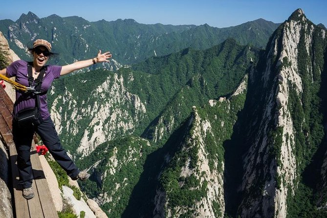 Private Day Tour of Mount Huashan Adventure from Xi'an, Sian, CHINA